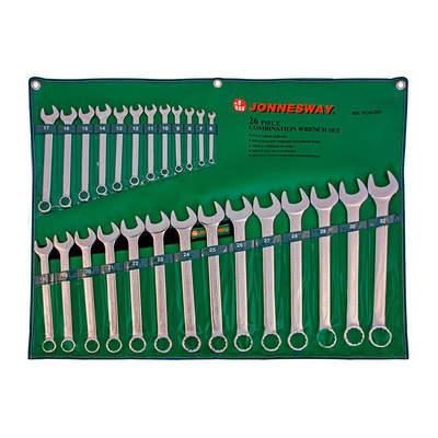 Набор комбинированных ключей 6-32мм, 26 предметов Jonnesway