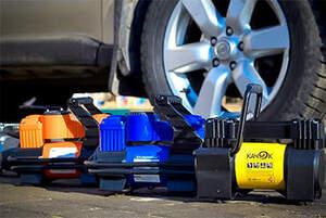 Компрессорные устройства для автомобилей